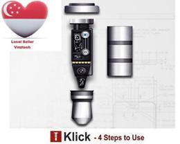 360 Klick quick button smart 3.5mm key for smart phone dustproof plug for andriod Smartphone dust plug