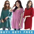 [SUPER SALE 1+1] KOREA STYLE ★ LOOSE FIT TEE COLLECTION / SUPER SOFT SPANDEX