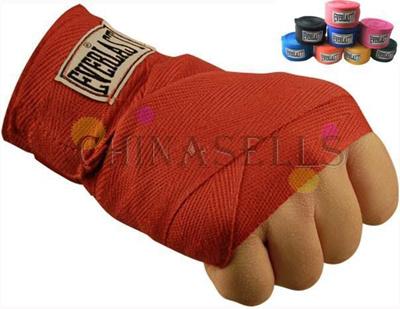 1pairs free ship cotton hand wraps boxing bandage 2.8M*5CM