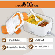 SURYA Electric Lunch Box For Office and Home
