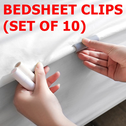 ⭐️BEDSHEET CLIPS/CLAMPS⭐️SIMPLE EASY TO USE⭐️STANDBY BED STANDARDS⭐️