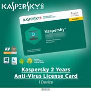 Kaspersky 2 years Anti Virus License Card