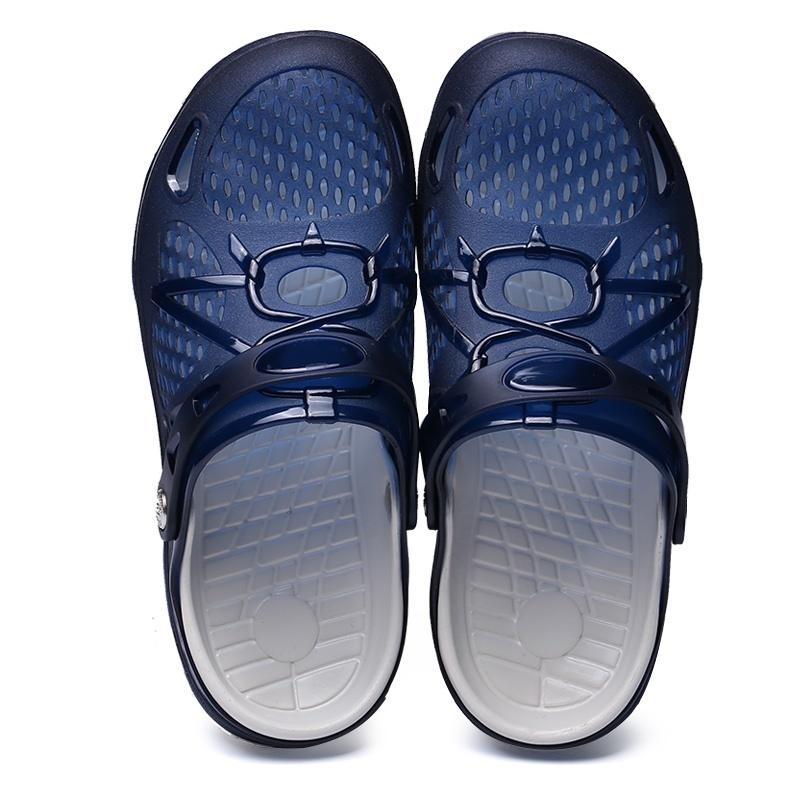 3985899a1b7 Qoo10 - Outdoor Casual Walking Beach Flip Flops Casual Men Shoes ...
