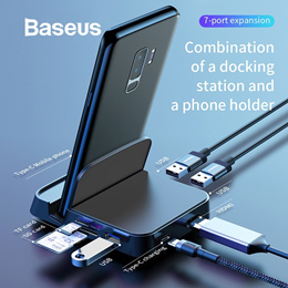 Baseus Mate Docking Type-C mobile phone intelligent HUB docking station (standard version)