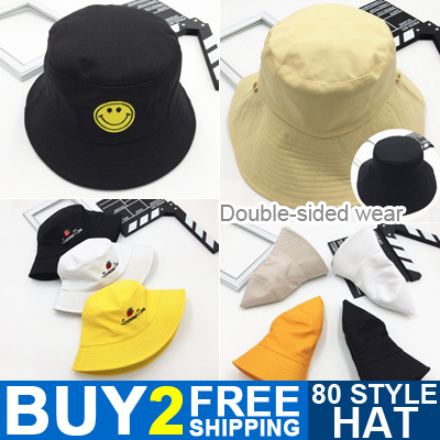 5fe6eddc92 Buy 2 Free Shipping Fashion Hats for Women and Men UV Hat Double-sided Wear  Fisherman Hat Caps