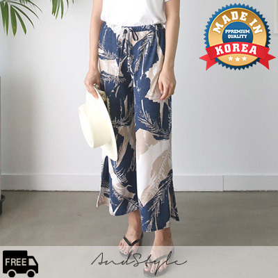 [AndStyle官方旗艦店] 寬筒長褲 Frisia Leaf Wide Pants_235498