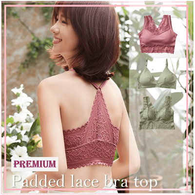 【Premium padded vest/tube top】Padded bralette camisole/Wireless bra/ Sleeping bra/Yoga bra