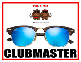 [RB3016] RB Clubmaster Sunglasses