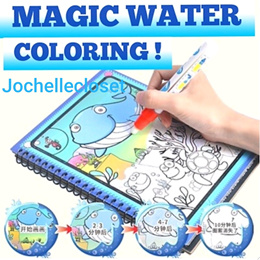 Water Doodle Book Magic Water Drawing Book Water Colouring Book Party Goodies Bag