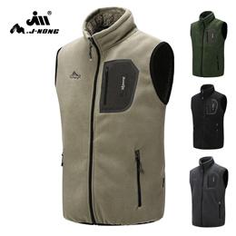 c5ecaeb6dbc COUPON  Mens Sleeveless Fleece Waistcoat Vest Jacket Male Causal Warm  Pocket Outwear Vest Clothing
