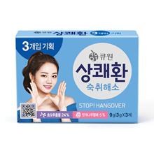 [Qone] hangover Relief stop hangover Sangkwaehwan Qone samyang 3g x 3pack