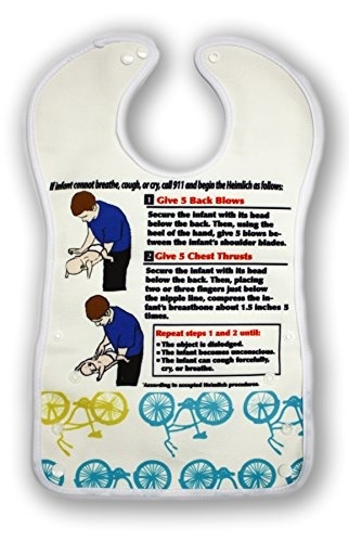 Qoo10 Breathe Easy Baby Bib For Infants With Heimlich Instructions