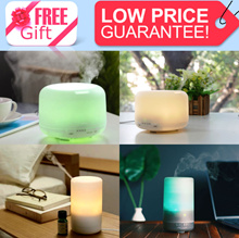 ★SG BESTSELLING MODEL!★ Essential Oil Ultrasonic Aroma Diffuser Mist Humidifier. FREE GIFTS!