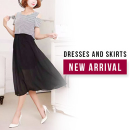 (Ready Stock)Stay on Trend and in Style Ladies Dresses
