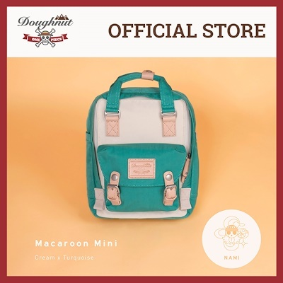 28c27a3006fe  License Special Edition  Doughnut x One Piece Backpack - MACAROON MINI  NAMI CREAM X