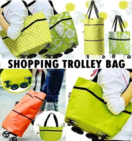 TAS TROLLEY LIPAT | Foldable Shopping Cart / trolley shopping bag
