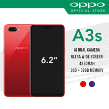 [Official Store][Free Gifts] OPPO A3s Smartphone / 3GB RAM / 32GB ROM / 2 Years Warranty