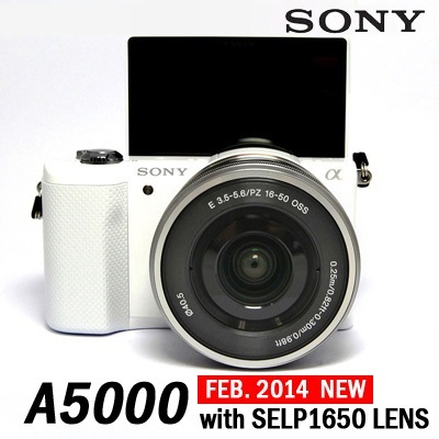 Qoo10 - Sony Alpha A5000 Interchangeable Lens Camera with 16-50mm ...