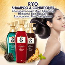 RYO Korea No.1 Oriental Herb Hair Care Brand★Amore Pacific Ryo Shampoo / Conditioner