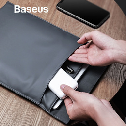 Baseus Laptop Sleeve Bag Case for Macbook Air Pro 13 14 15 16 Super Thin Double-layer Computer Liner
