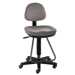 (Alvin) DRAFT CHAIR VICEROY MED GRAY Drafting, Engineering, Art (General
