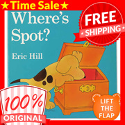 Where's Spot - A Lift-The-Flap Book [Board Book]