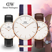 ★100% Original★DANIEL WELLINGTON* Daniel Wellington Nato and Leather Strap Watches! For Men and Ladies. Classic Classy Dapper/ 1 Year Warranty