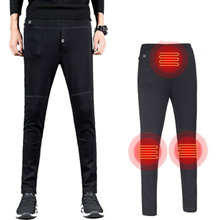 Usb Heating Pants Down Brushed Pants Unisex 8 Hours Available