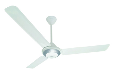 Panasonic F-56TZ5 56-Inch Compact Ceiling Fan 5 SPEED SELECTION | WHITE | Motor / QuieT