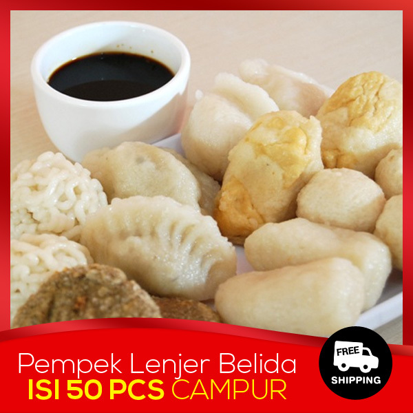 [Free Shipping YES] PAKET A Pempek Lenjer Belida Laut Tarisa Deals for only Rp145.000 instead of Rp145.000