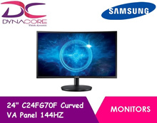 Samsung 24 C24FG70F Curved VA Panel 144HZ 1920 x 1080