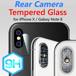 Phone joy Rear Camera 9H Tempered Glass★Galaxy S9/S8/Plus/Note 8/iPhone X/8/7/6/Plus Camera Protect