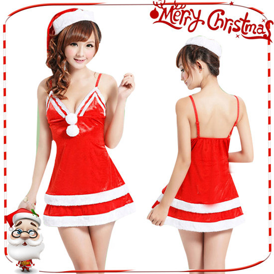 サンタコスプレ クリスマス コスチューム コスプレ サンタクロース サンタ衣装 大人用 レディース ワンピース