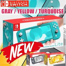 [新貨上架] 任天堂 Switch Lite 5.5主機輕巧版(藍色/黃色/灰色)- 9/20發售