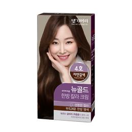DAENG GI MEO RI New Gold Herbal Hair Color Cream No4 Natural Brown 134g