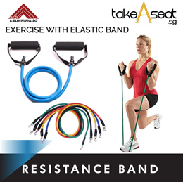 Resistance Elastic Band  Arms Exercise Workout