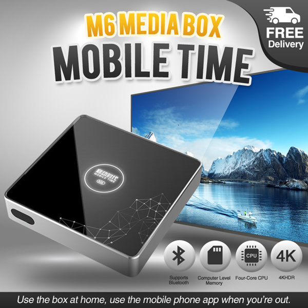 Mobile Time M6 Media BoxApply Qoo10 Cart Coupon For Better DealMobile Time M6 Media Box Deals for only RM444.9 instead of RM1011