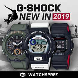 G-SHOCK NEW IN 2019 New Arrivals Watches. Free Shipping!