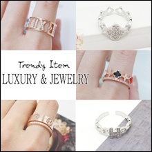 💍 Laurenco 💍RENEWAL Trendy Korean Ring - Luxury and unique Ring / Earrings