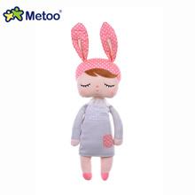 mainan anak boneka metoo angela rabbit ukuran 34 cm