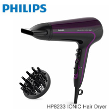 Philips HP8233 IONIC Hair Dryer 1500W Ceramic (Free Scalp SPA Diffuser) new