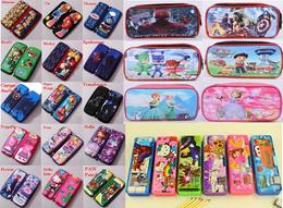 ★3D Cartoon Pencil case/Pencil box/Frozen Stationsry set/Kids bag/Early Development Toys