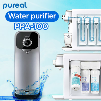 Qoo10 ppa 100 furniture deco pureal water purifier ppa 100 no electric pure water made in korea fandeluxe Images