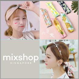 FASHION ACCESSORIES ($2~$6)  /Hair ties / Baby Headband / clip /Hair band/Head Band/Rubber ban