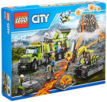 LEGO 60124 Volcano Exploration Base