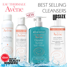 60% OFF! Best-selling AVENE Skincare Cleansers Makeup Remover Micellar Water Thermal Facial Spray