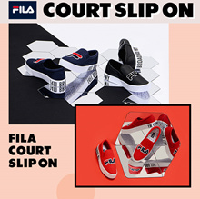 FILA Original Sneakers FS1SIZ3150X_WWT COURT SLIPON 5type