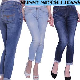 New Arrival Branded Denim Pants - Miyoshi jeans Skinny Pants - Celana  panjang wanita - indigoclusters collection