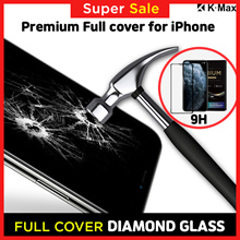 Apple iPhone 11 Pro Max XS X XR LCD Protective Bulletproof Tempered Glass Film