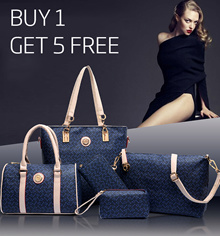 [6 Bags Set!] Korean Sling Bag Handbag Shoulder Bag |  Bags For Women  [BUY 1 GET 5 FREE]